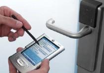 Mobile Zutrittskontrolle, RFID, Transpondertechnik, PDA, Handy Internet